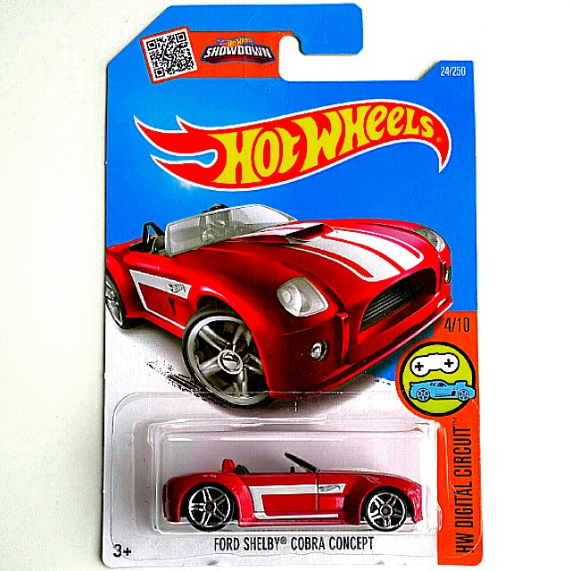 Hot Wheels Ford Shelby Cobra Concept