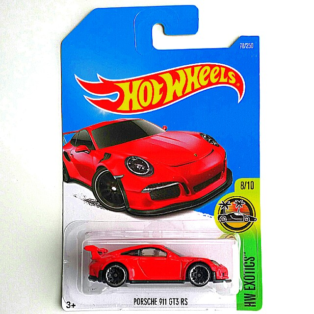 Hot Wheels Porsche 911 GT3 RS