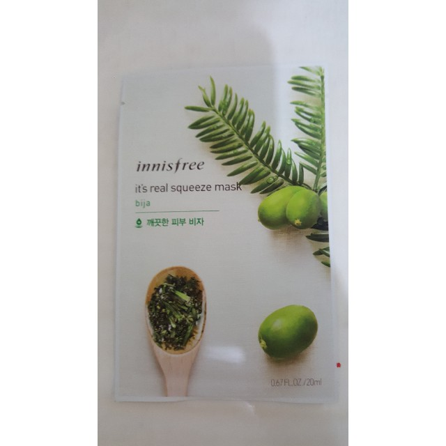 Innisfree Its Real Squeeze Mask Bija