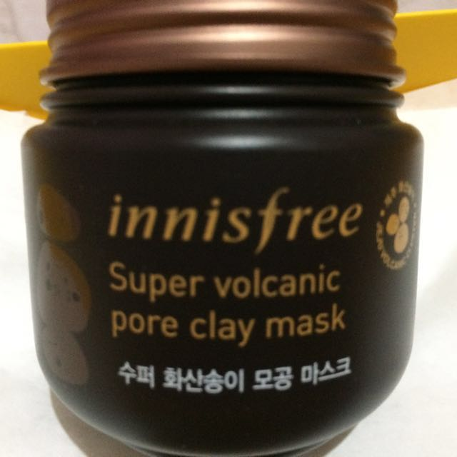 Innisfree Super Volcanic pore clay mask (100ml) Authentic from Korea