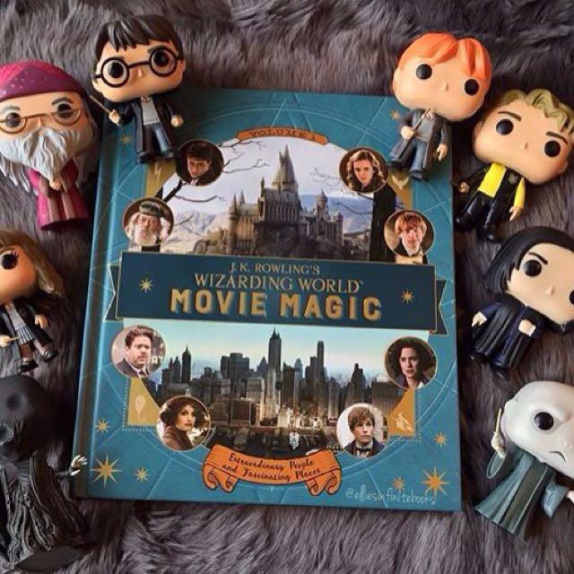 J. K. Rowling's Wizarding World: Movie Magic  - Hardcover Hardback hard cover - Harry Potter