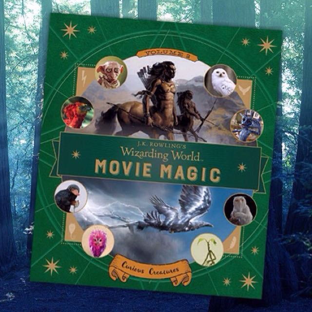 J. K. Rowling's Wizarding World: Movie Magic Vol. 2: Curious Creatures - Hardcover Hardback hard cover - Harry Potter