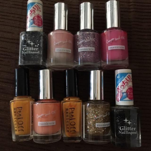 Japan Nail Polish, Preloved Health & Beauty, Perfumes, Nail Care ...