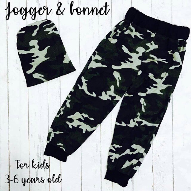Jogger and Bonnet for Kids