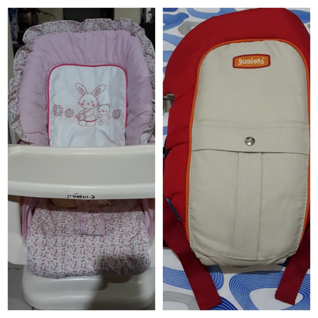 Repriced: Juniors bby swing chair/bed & bby carrier bundle