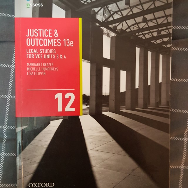 Justice & Outcomes Legal Studies 3&4