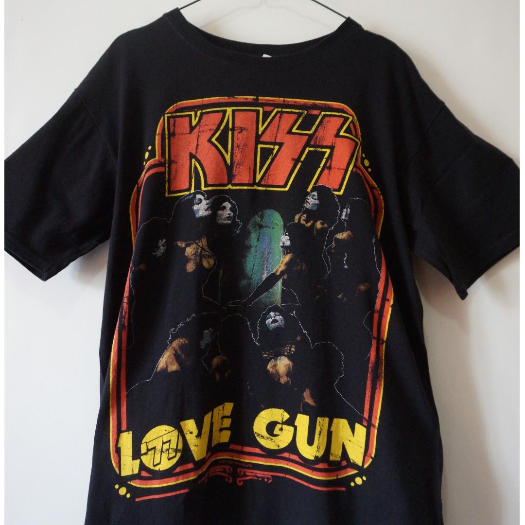 MMen's UpSize Kaos Rock Kissbuild FashionClothes Band 9WYHED2eI