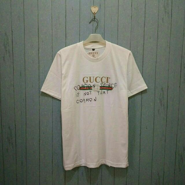 09f58920 kaos Gucci common sence BEST SELLER!!!, Olshop Fashion, Olshop Pria ...