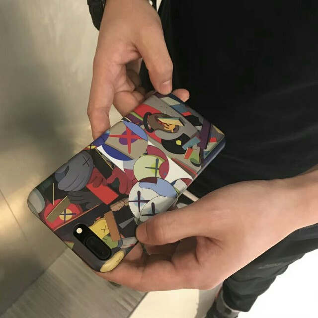 Kaws High Quality Durable Soft Shell Phone Case For iPhone 6/7/7plus/8/8plus/X