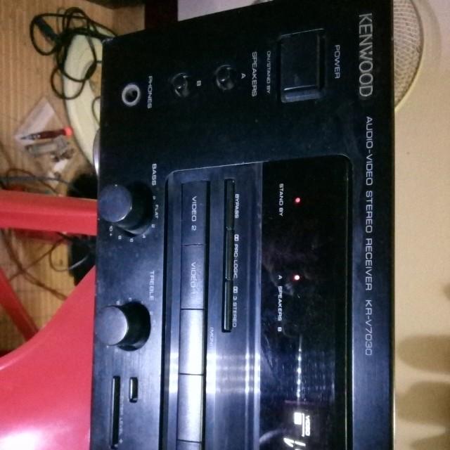 Kenwood Audio-Video Stereo Receiver KR-V7030