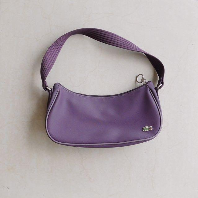 Lacoste Purple Bag