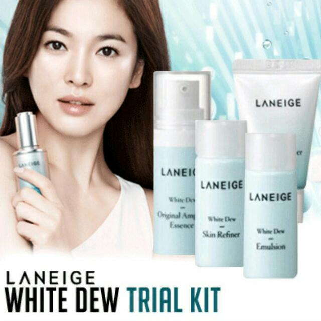 Laneige White Dew Trial Pack