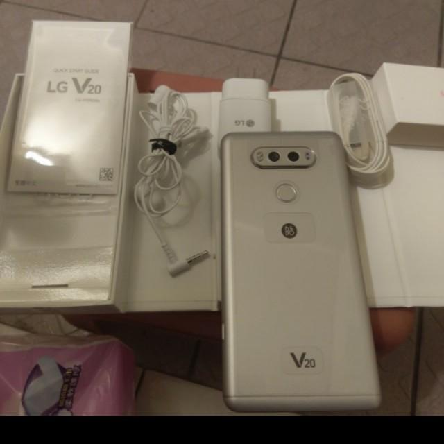LG V20 4G 64G雙卡銀色1年保固