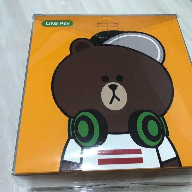 Line 正版熊大耳罩式耳機