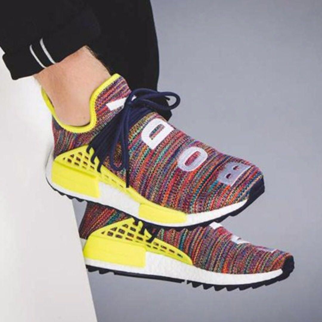 reputable site fab70 89879 LOCAL IN HAND US6.5 Pharrell William Human Race NMD Trail ...