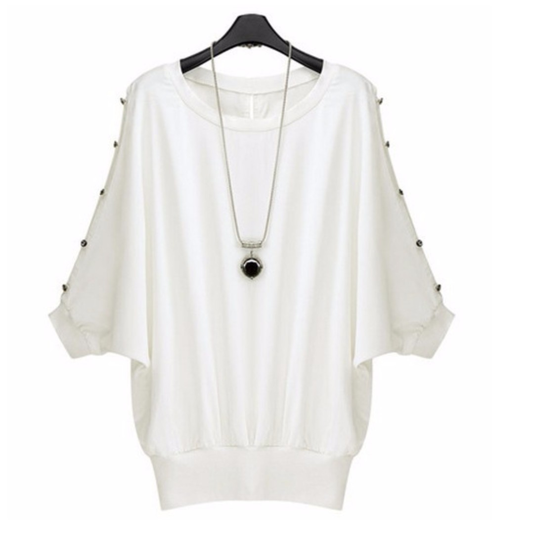 Loose Batwing Sleeve Top