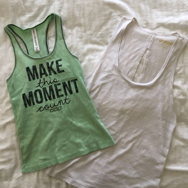 Lorna Jane & Forever 21 sports gym singlets/tops
