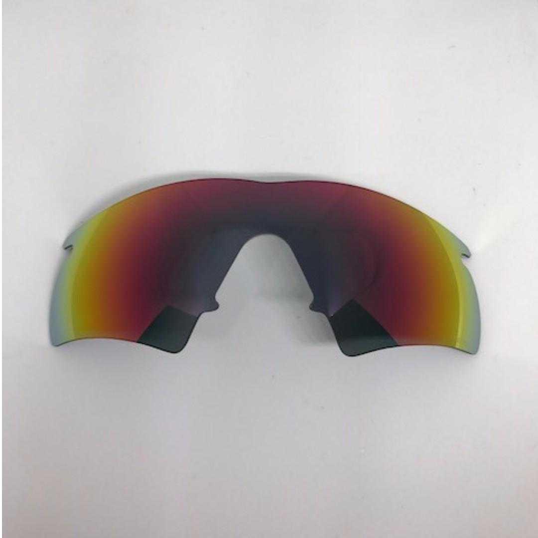 M Frame Hybrid Ruby Red POLARIZED Dym Replacement Lense For Oakley M ...