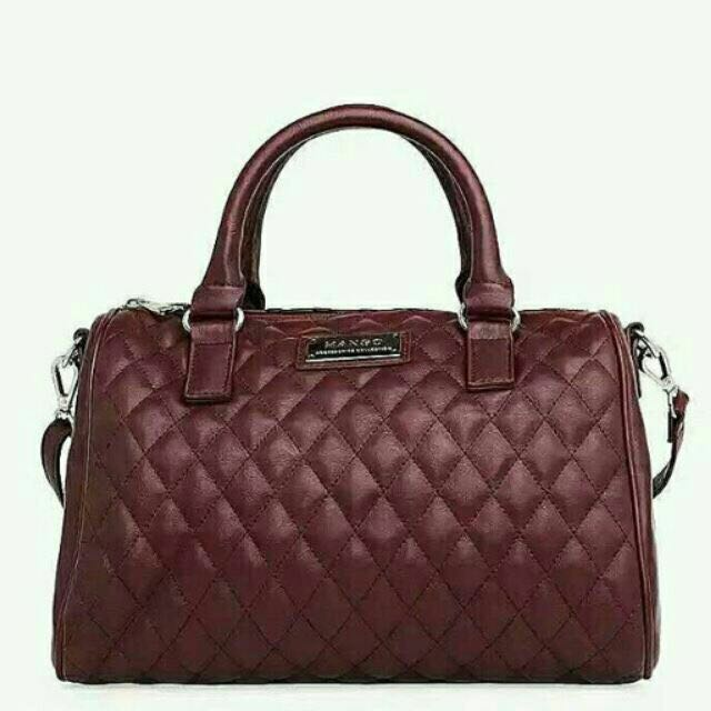 Mango speedy bag in red wine