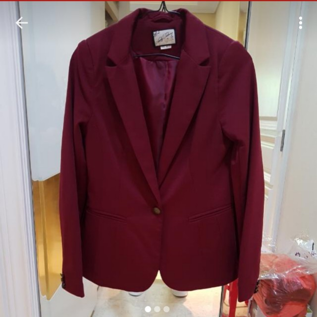 Marron blazer Pull n Bear