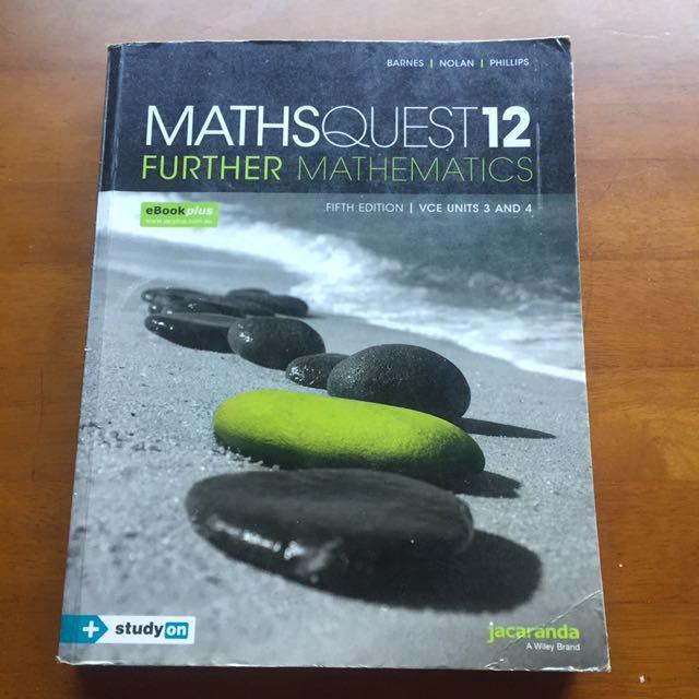 MathsQuest12 Further textbook