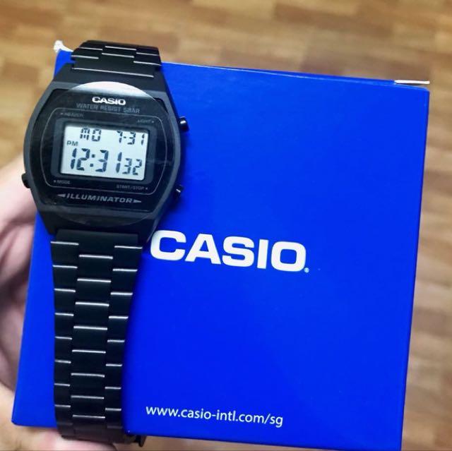 Matte Black Casio Orignal