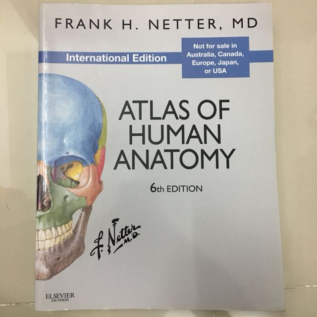 Medical Textbook Netter Atlas Of Human Anatomy 6th Edition