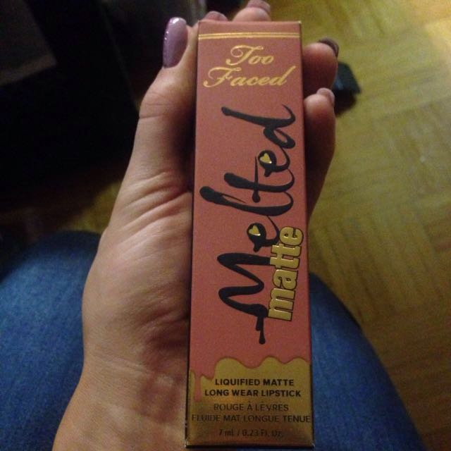 Melted matte - Too Faced lipstick