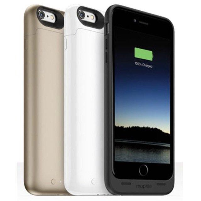 mophie Juice Pack Air行動電源 for iPhone 6/s(白/金/黑三色)