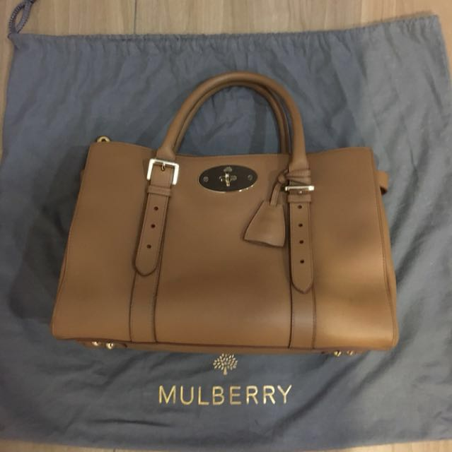 e448544fc2 Mulberry Bayswater Double Zip Tote Bag