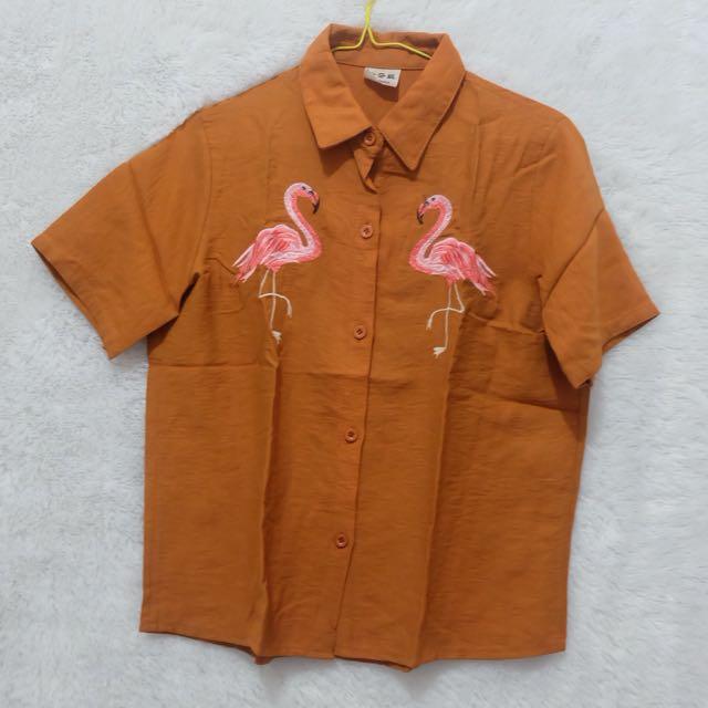 Mustard flamingo