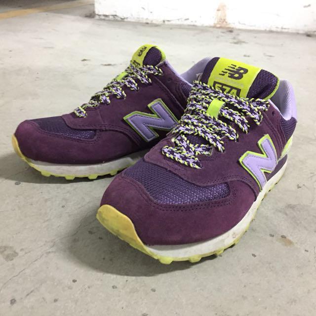 NEW BALANCE 574 慢跑鞋 女鞋 24CM #手滑買太多