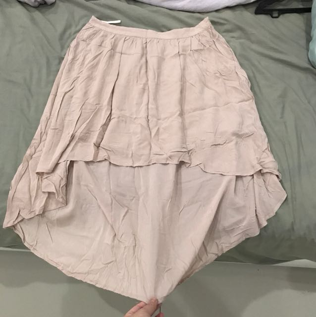 New Look : dusty pink skirt