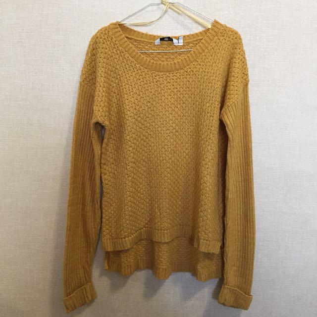 NEW LOOK Mustard Chunky Knit