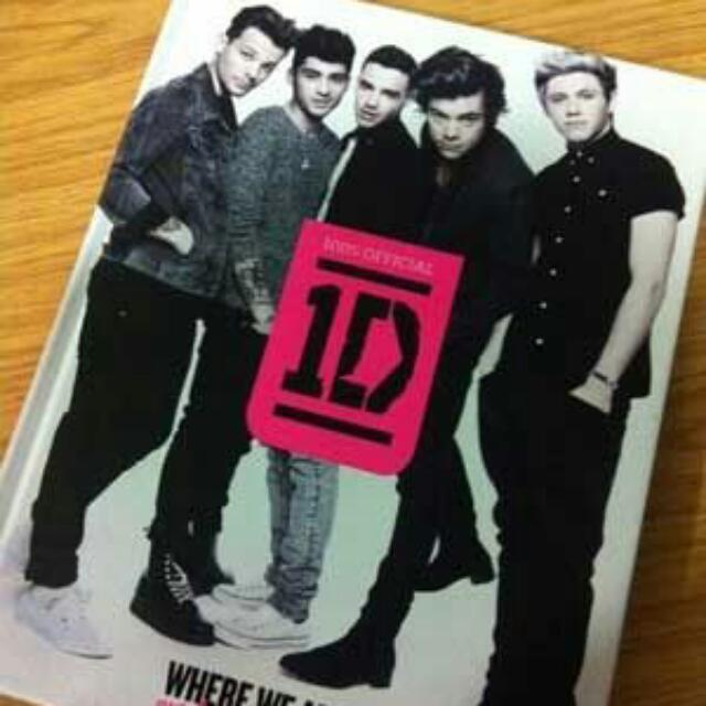NEW ONE DIRECTION BOOK