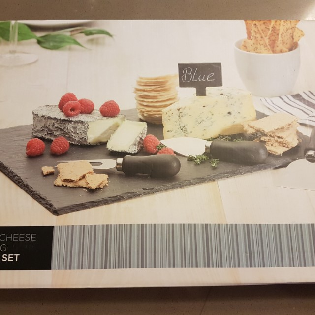 NEW Slate Serving Cheese Board