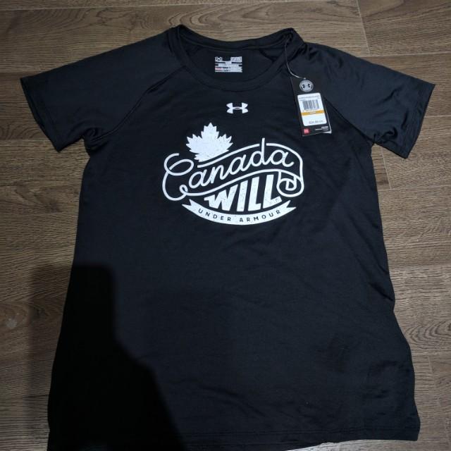 New Womens UA shirt