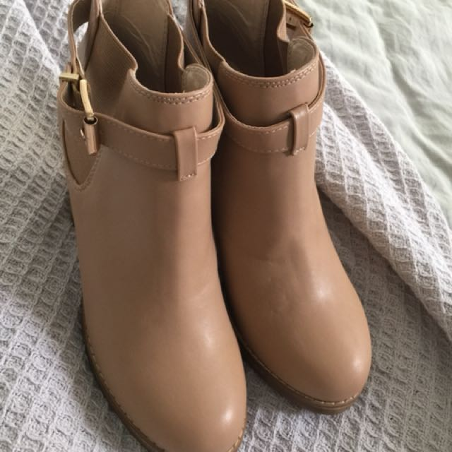 REDUCED Nude Forever New Boots