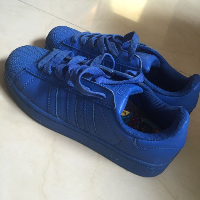Original Adidas Supercolor Blue size 37