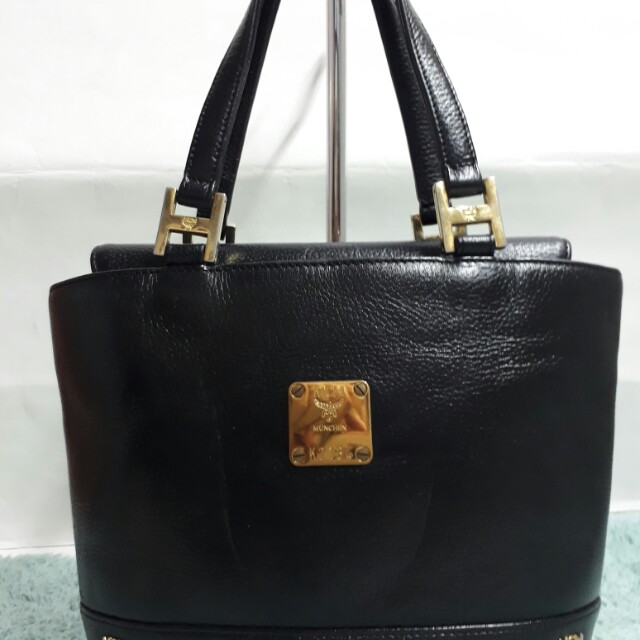 Original MCM leather bag