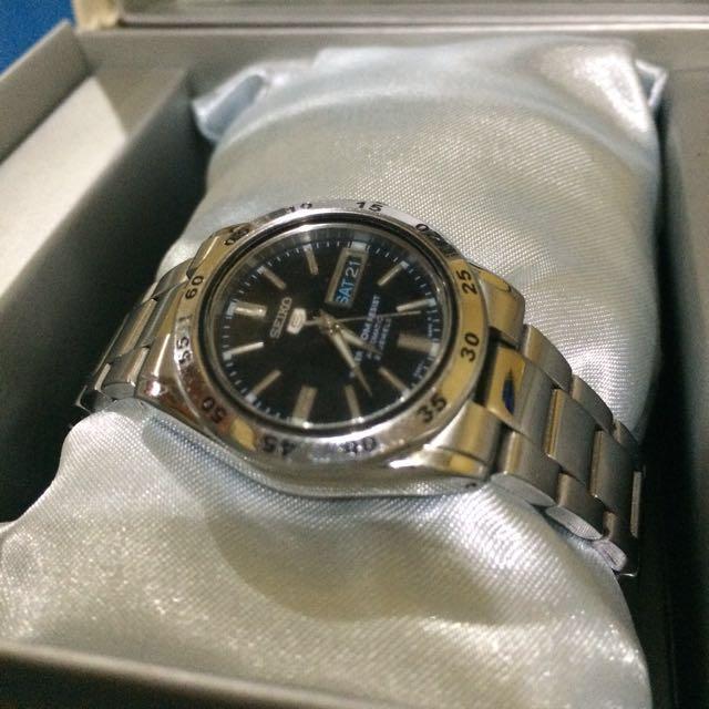 Original Seiko Automatic Women's Watch In Silver