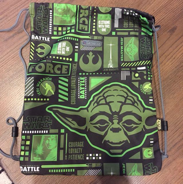 Original Star Wars Yoda Samsonite Backpack