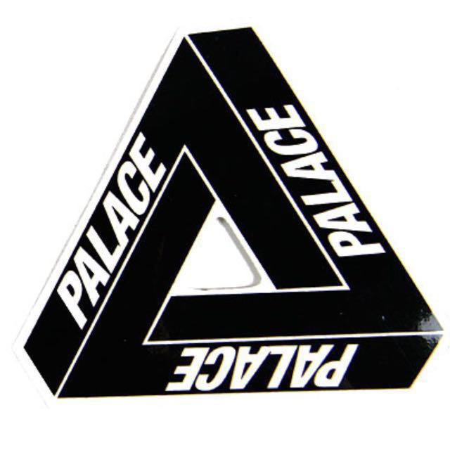 2001d91c632a Palace Skateboard Authentic Sticker
