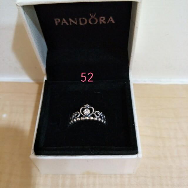 PANDORA皇冠造型戒指