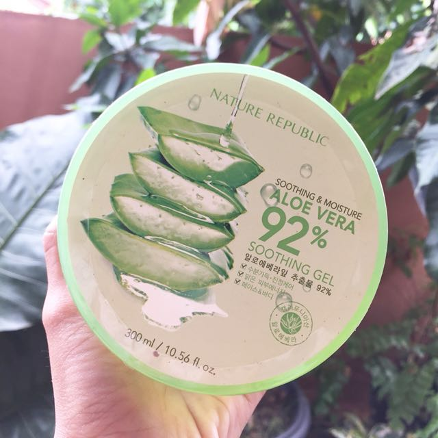 PO NATURE REPUBLIC ALOE VERA GEL 92%