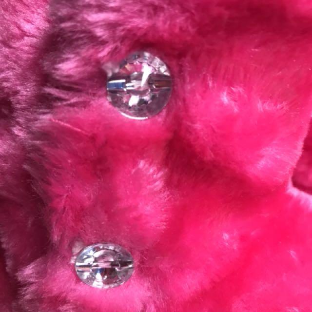 6c524039c0e1 Preloved Fuschia Pink Fur Boots for Little Girls