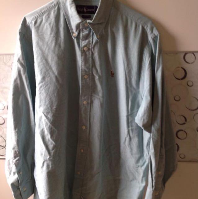 Ralph Lauren 襯衫 16-33(應該XL)
