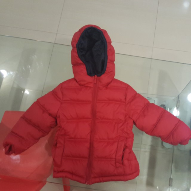 8a12d13a8149 Red toddler Winter Jacket zara boys for 3 year old