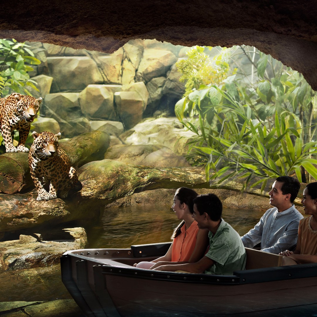 River Safari (Admission + 2 Boat Rides) - Child