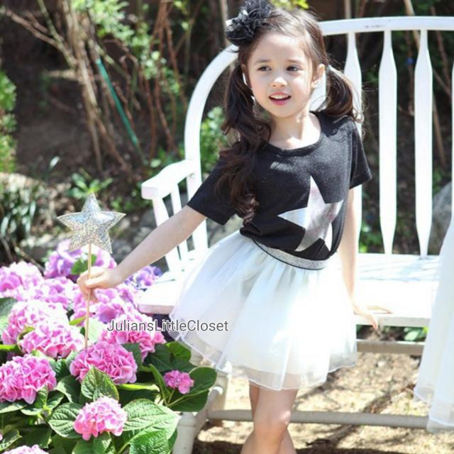 Rock Star Princess Top & Skirt Set